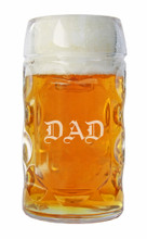 Oktoberfest Glass with DAD Laser Engraved