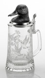 Duck Glass Beer Stein