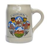 Heidelberg Rastal Stoneware Beer Mug 0.5 Liter
