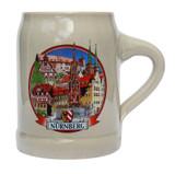 Nuernberg Rastal Stoneware Beer Mug 0.5 Liter