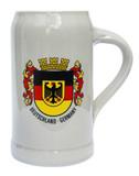 Deutschland Crest Rastal Stoneware Beer Mug 1 Liter