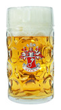 Becks Dimpled Oktoberfest Glass Beer Mug 1 Liter
