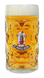 St Pauli Girl Dimpled Oktoberfest Glass Beer Mug 1 Liter