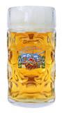 Oktoberfest Dimpled Oktoberfest Glass Beer Mug 1 Liter