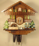 Musicians Chalet German Cuckoo Clock