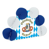 Oktoberfest Pop-Over Centerpiece 10in tall