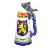 Beer Stein Centerpiece 3D 11.75in tall
