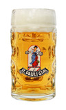 St Pauli Girl Dimpled Oktoberfest Glass Beer Mug 0.5 Liter
