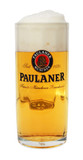 Paulaner Faceted Glass Beer Mug 0.5 Liter