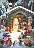 Nativity with Children German Christmas Advent Calendar