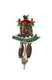 Oktoberfest Cuckoo Clock German Hat Pin