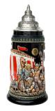 Leif Erikssen Viking Beer Stein