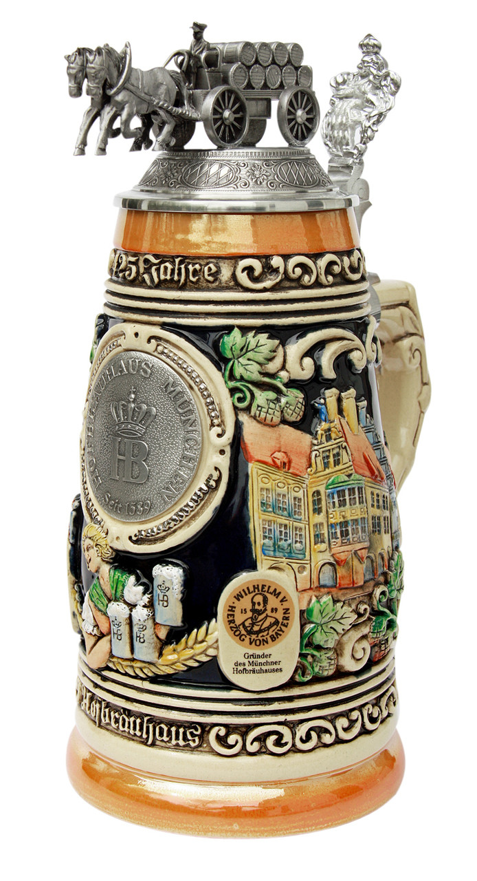 425 Year Anniversary Hofbrauhaus Hb Brewery Beer Stein
