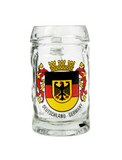 Deutschland Crest Beer Mug Shot Glass