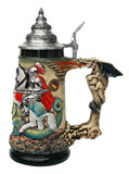 Knight Dragon Slayer Beer Stein