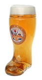 US Army Glass Beer Boot 1 Liter