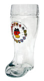 Deutschland Map Glass Beer Boot 1 Liter