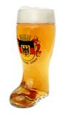 Deutschland Crest Glass Beer Boot 1 Liter