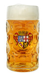 Authentic 1 Liter German Mass Krug with Saarland Crest