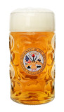 US Army Dimpled Oktoberfest Glass Beer Mug 1 Liter