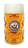 US Navy Dimpled Oktoberfest Glass Beer Mug 1 Liter