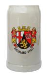 Rheinland Pfalz Rastal Stoneware Beer Mug 1 Liter