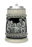 Hunters Meal Traditional Beer Stein Cobalt