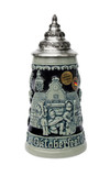 Ceramic Official Munich Oktoberfest Beer Mug with Lid