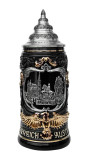 Vienna Eagle Handle Beer Stein 0.4 Liter