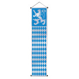 Oktoberfest Velvet-Lame Door Party Banner Decoration