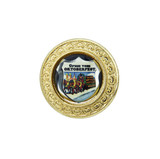Gold Oktoberfest Beerwagon Medallion