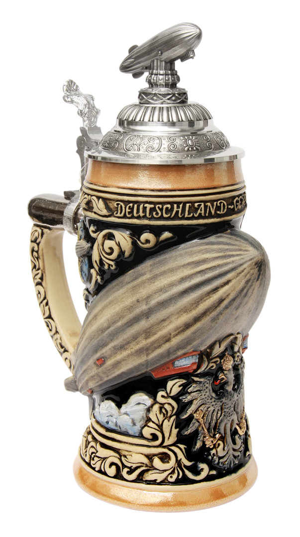 Zeppelin 3d Beer Stein Germansteins Com