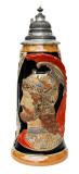 King Limitaet 2003 | Peter Duemler Ares Trojan War Handpainted Beer Stein