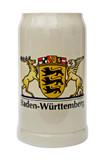 Baden Wuerttemberg Rastal Stoneware Beer Mug 1 Liter