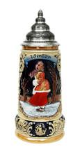 Ceramic Beer Stein German Christmas Gift