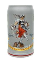 Official 2011 Oktoberfest Wirtekrug Beer Mug Showing Schutzenliesl Image
