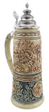 King Limitaet 2016 | Battle of Teutoburg Forest Antique Style Beer Stein Brown