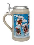 Munich Oktoberfest 1970s Compilation Beer Stein