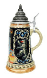 Berlin and Kaiser Wilhelm Memorial Church Beer Stein Cobalt