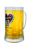 Hacker Pschorr Oktoberfest Glass Beer Mug 0.5 Liter