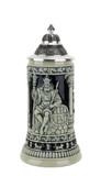 Gambrinus The Beer King Stein Cobalt | 0.3 Liter