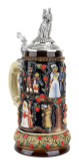 Stein of Life Wedding Beer Stein | Wedding Couple Lid