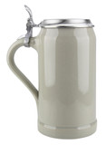 Ceramic Beer Stein with Lid