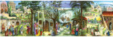Bethlehem Panorama Christmas German Advent Calendar