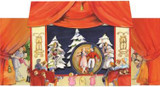 Nutcracker Suite 3D Pop Up German Advent Calendar
