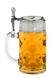 Authentic German Beer Drinking Glass
