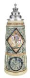 King Limitaet 2006 | King Solomon Handpainted Beer Stein