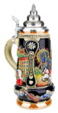 Vienna, Salzburg, Innsbruck Austria Beer Stein