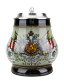 Austria Coat of Arms and Flags Beer Stein