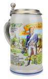 Official Munich Oktoberfest 2015 Wirtekrug Salt Glaze Beer Stein